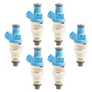 Set(6) 440CC Fuel Injectors Replaces 0280155968 42lb /hr Top Racing EV1