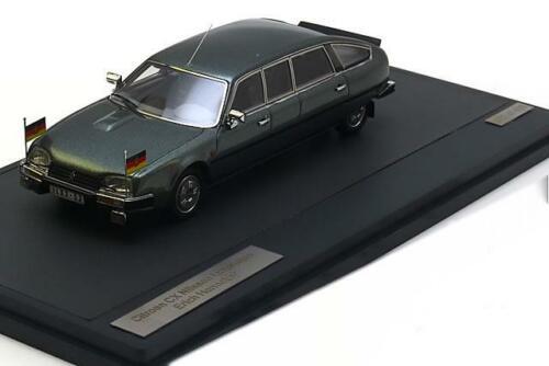 1:43 Matrix Citroen CX Nilsson Saloon Erich Honecker 1985 greymet.