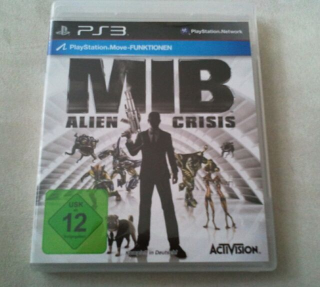 Men In Black III - Alien Crisis (Sony PlayStation 3, 2012)***Neuwertig***