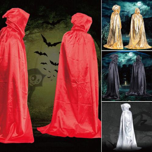 Vampire Umhang Tod Magie Roben schwarz Zauberer lang Umhang Kostüme Nice