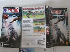 PLAYSTATION PSP MLB 989 SPORTS GAME MANUAL & BOX ONLY NO DISC- L33