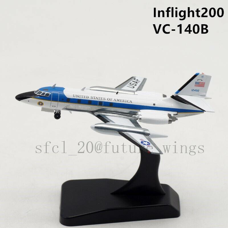1 200 Inflight 200 Air Force Estados Unidos Lockheed VC-140B 61-2492 aviones modelo con Soporte