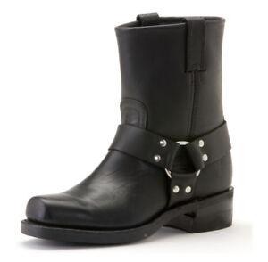 Frye Boots Harness 8R Black 87400 BLK | eBay