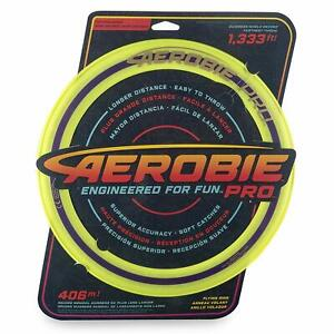 NG - AEROBIE PRO Frisbee Wurfring GELB 33cm - SPAREN mit Kombiversand