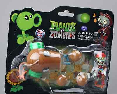 1 pcs TOY PLANTS VS ZOMBIES SNOW PEA & ARTICULATED FIGURINE ACTION FIGURE