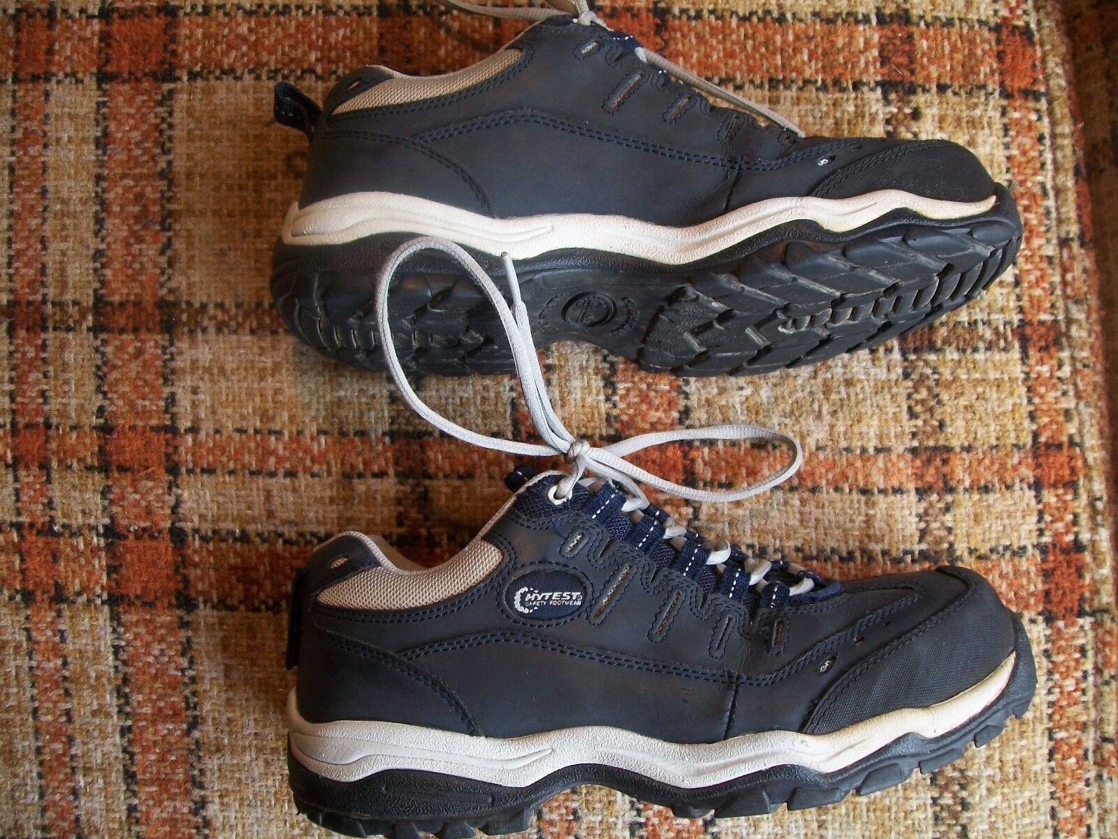 HyTest Mens SIZE 6 WIDE WIDTH Hard Toe Work Sneaker shoes SN 11162