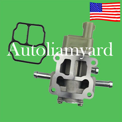 Toyota T100 1995-1996 V6 3.5L Tacoma 1995-1996 V6 3.5L 22270-62040 Idle Air Control Valve With Gasket Fits