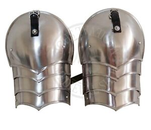 Medieval-Spaulders-Combat-Pauldron-Hand-Crafted-Authentic-Gothic-shoulder-pair