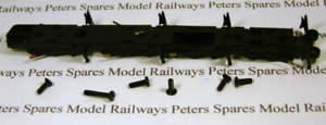 7200 Hornby X6568 Class 72xx Loco Chassis Bottom With Pick Ups /& Screws