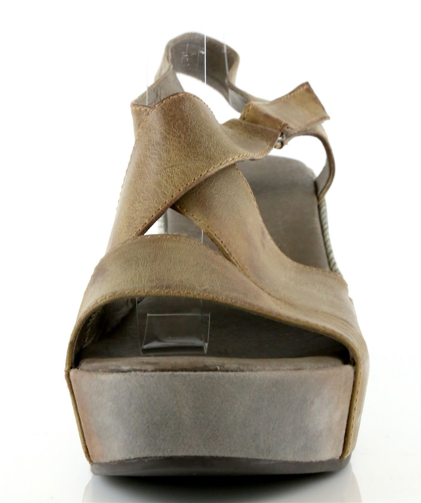 Antelope 7429 Woman's Brown Pelle Strappy Wedge Sandals NEW!  Size 40 EU NEW! Sandals 2cd3c4