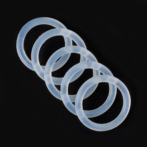 Food Grade O-Rings Silicone Baby Dummy MAM Pacifier Chain Clips Adapter Holder