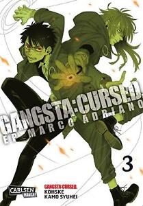 Gangsta: Maudit. - Ep _ Marco Adriano 3-allemand-willard Manga-article Neuf-. - Ep_marco Adriano 3 - Deutsch - Carlsen Manga - Neuware Fr-fr Afficher Le Titre D'origine Soulager Le Rhumatisme Et Le Froid