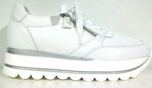 Details zu Gabor Comfort Best Fitting Damen Sneaker 43.410.21 Keil 15mm weiß Größe 36 40,5
