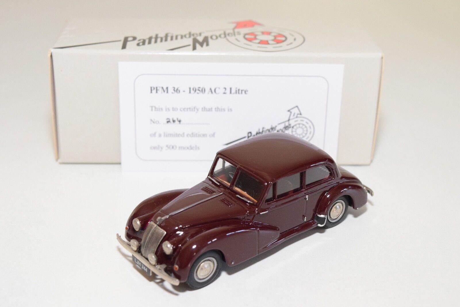 PATHFENDER modelllllerLER PFM36 PFM 36 1950 AC 2 LITRE MAROON MINT lådaED 264  500
