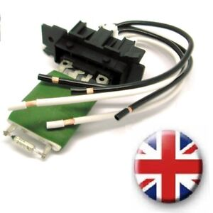 Details about Fiat Evo Ducato Heater Blower Resistor AND Wiring Harness on