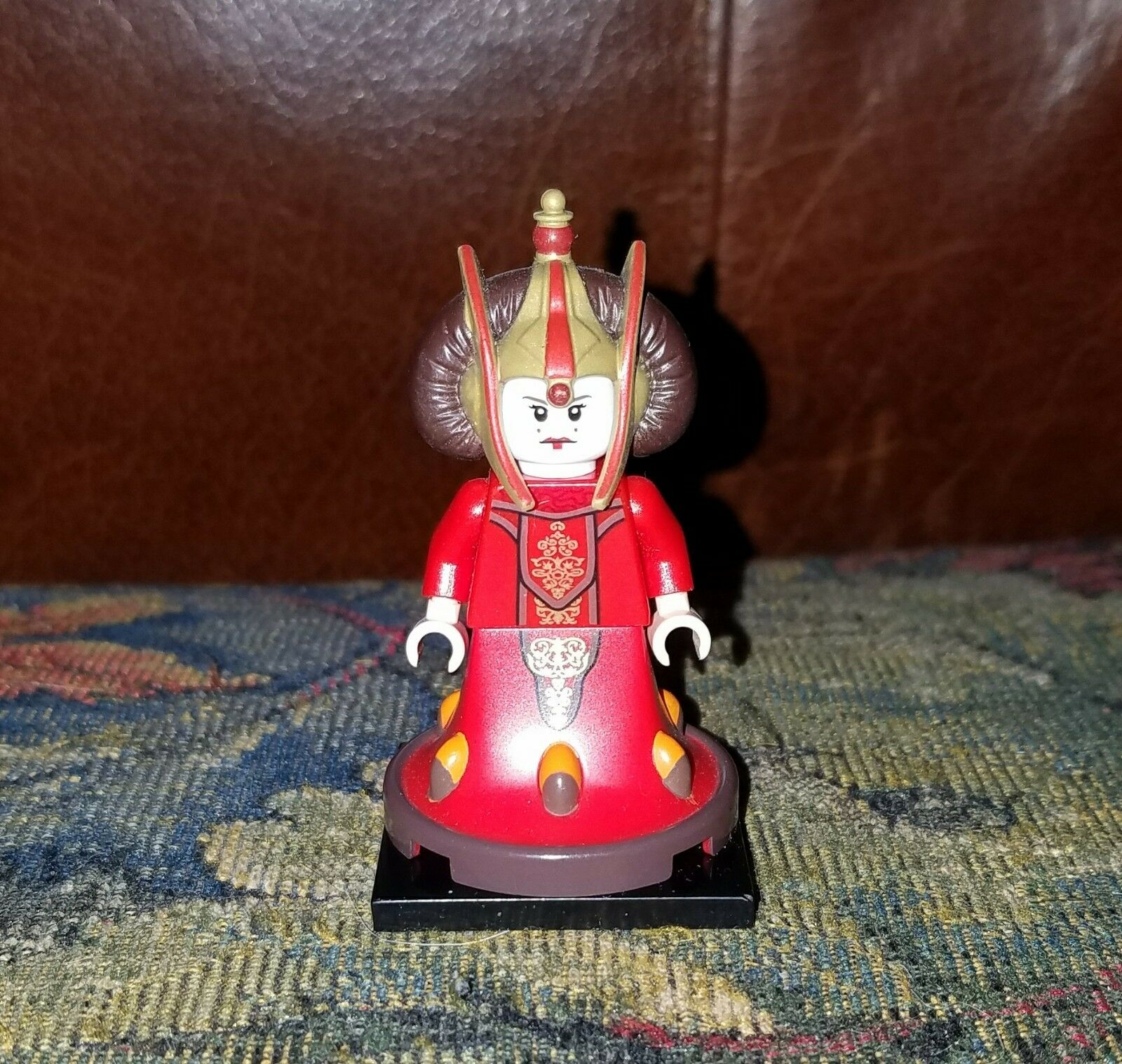 Authentic LEGO Star Wars Queen Amidala Minifig sw387 9499 Padme RepublicSenator