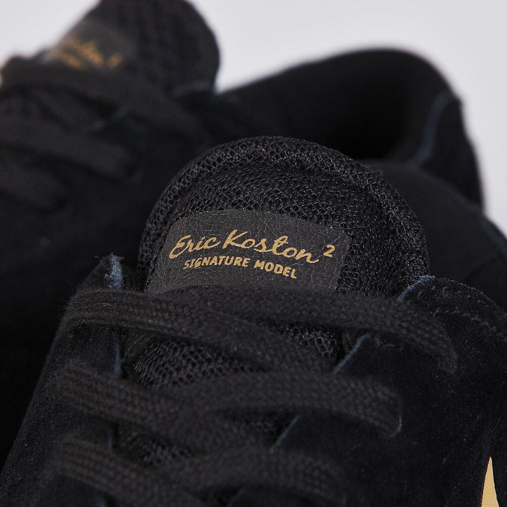 Nike Eric Koston nero nero nero Metallic oro Dimensione 13 - Koston 2 - New In Box 6c910b