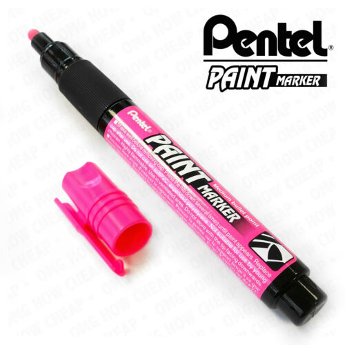 Pentel Permanent Cellulose Paint Marker Pens MMP20 Pack of 3