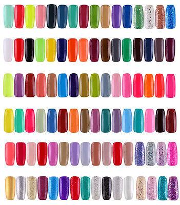 Canni UV Gel Polish Soak Off Nail Art Fashion Colour LED Glitter Tips 7.3ml #B