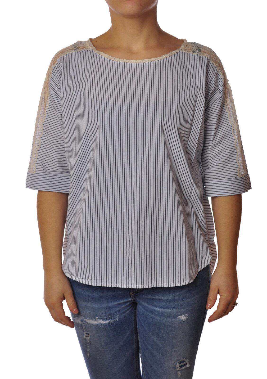 Twin Set  -  Camiseta - Mujer - Negro - 3057007A184315