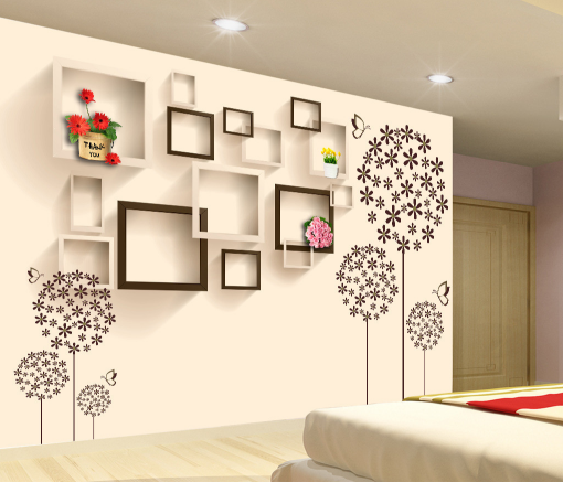 3D Photo Frame 4768 Wallpaper Murals Wall Print Wallpaper Mural AJ WALL UK Jenny
