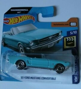 039-65-Ford-Mustang-Convertible-Hot-Wheels-2020-Case-C-Hw-Screen-Time-5-10-Mattel