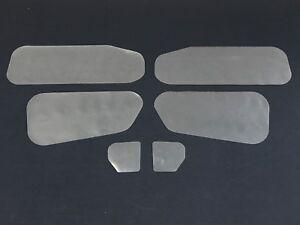 Holden EH, EJ Sedan, Wagon Inner Door Moisture & Dust Seals. Trim Gasket 200um