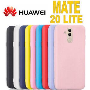 Dettagli su Cover per Huawei Mate 20 Lite L' ORIGINALE Silicone CUSTODIA Qualità PREMIUM