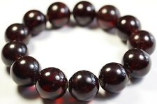 XL 18mm-42g PREMIUM MODIFIED CHERRY BALTIC AMBER ROUND BEAD BRACELET