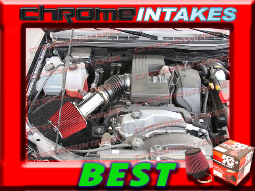 K/&N+RED 07 08 09 10 11 12 CHEVY COLORADO//GMC CANYON 3.7 3.7L AIR INTAKE KIT