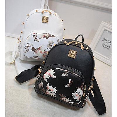 Girl School Bag Travel Cute Backpack Satchel Women Shoulder Rucksack