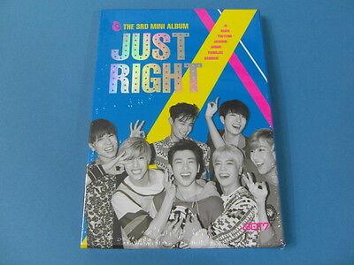 GOT7 - JUST RIGHT [3RD MINI ALBUM] CD W/BOOKLET(84P) +PHOTO CARD K-POP