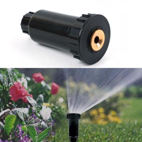 """1//2/"""" Adjustable Plastic Pop up Sprinklers 90-360 degree Lawn Irrigation Garden"""