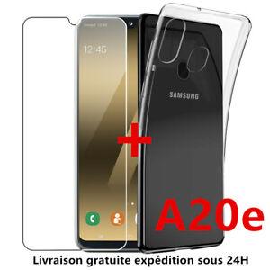 A20e Housse Etui Coque Silicone Gel Samsung Galaxy A20e Film ...