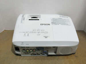 Epson-PowerLite-S17-3LCD-SVGA-Projector-2700-Lumens-1589-Lamp-Hours-w-No-Remote