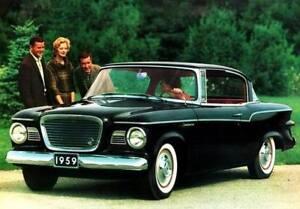 1960 Studebaker Lark 4 door sedan Refrigerator Magnet 40 Mil