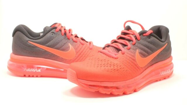 6a96c857c1 Nike Air Max 2017 Size 6 849559-600 Bright Crimson Total Crimson Shoes