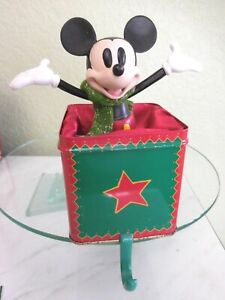 Disney-Parks-A-Christmas-To-Remember-Stocking-Holder-Hanger-1999-Mickey-Lowest