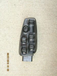 98 00 Dodge Durango Slt Sxt Driver Left Side Master Power Window Switch Black Ebay