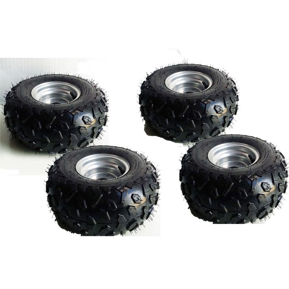4XTire w  rim 145 70-6 RIGHT LEFT 50 70 90 110cc Taotao Quad ATV Go-Kart 4 wheel