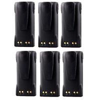 6 X Hnn9008ar Hnn9008h Battery For Motorola Mtx900 Mtx950 Mtx960 Mtx9250 Pro7750