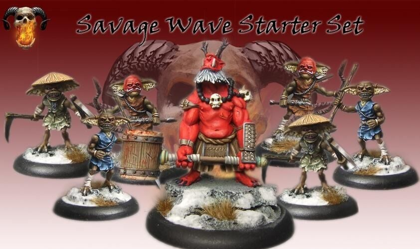 Bushido BNIB - The Savage Wave starter set