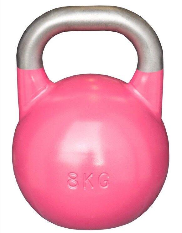 Strengthshop Competition Kettlebell 8 kg, Kugelhantel, geeichter Stahl