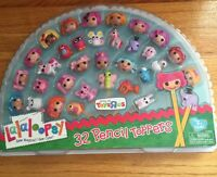 Lalaloopsy Exclusive Set 32 Pencil Toppers Series 1 & Series 2 School Favors
