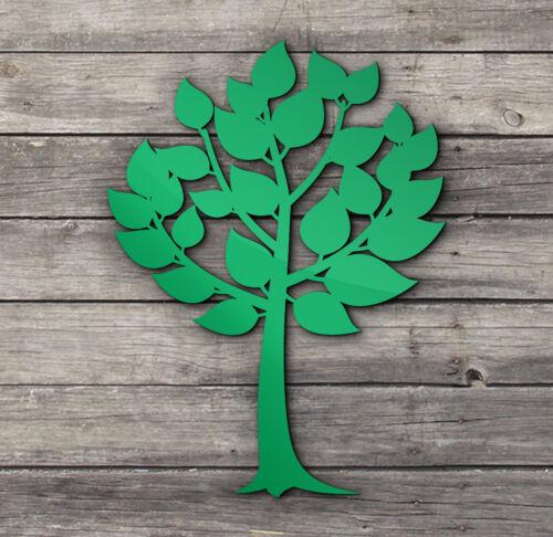 TREE SHAPE LASER CUT Plastic SHAPE Wood Craft Arts Decoration