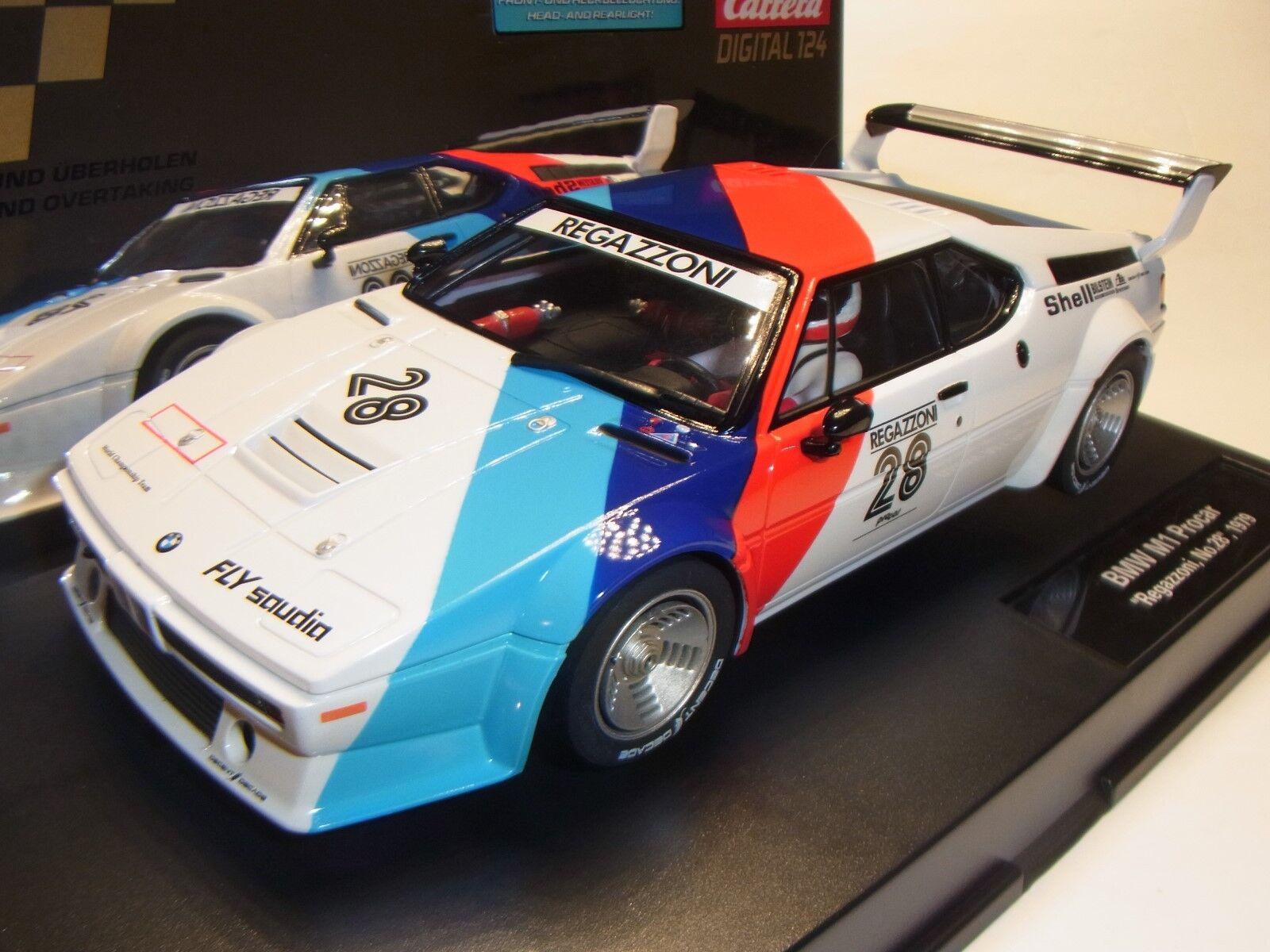 Carrera Digital 1 24 BMW M1 Procar Regazzoni 1979 CAR23820 Slotcar