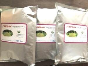 FORUN-Organic-Wheat-Grass-Powder-1-2kg-400g-3bags-Super-Value