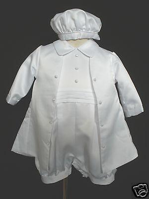 L20 New Baby Boy /& Toddler Christening Baptism Romper Formal Suit 3,4 18-24 M