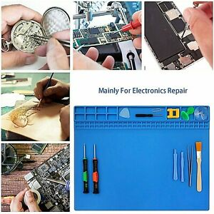 Watchmaker-039-s-Silicone-Rubber-Bench-Mat-Pad-Anti-Slip-Jewelry-Watch-Repair-Tools