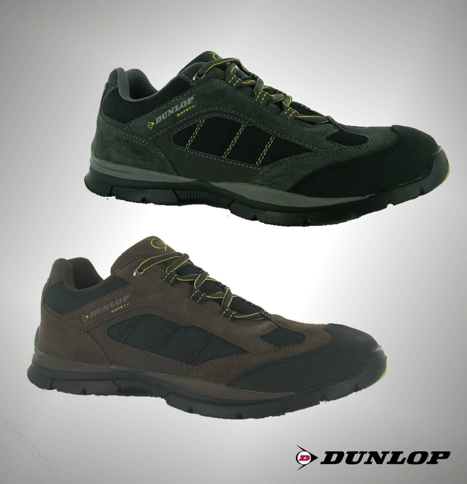 Mens Dunlop Durable Laced Up Safety Lowa schuhe Stiefel Workwear Größes from 6-12